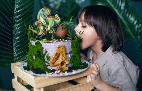 dinosaurus kinderfeest
